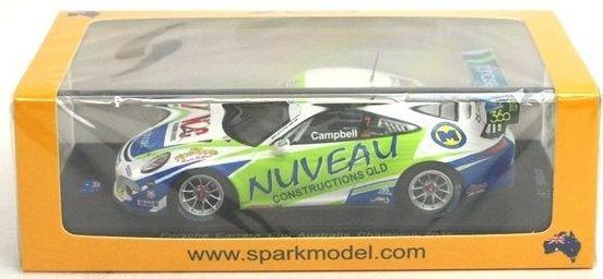 Porsche GT3 Cup Australian Carrera Cup winner M Campbell