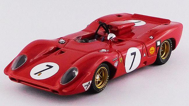 1969 Ferrari 312P Nurburgring Rodriguez/Amon
