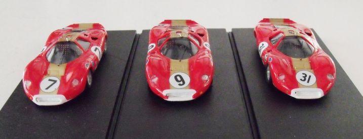 Second version of the Ford 3lt P68 Nurburgring 1000ks Spa 1000ks Oulton Park TT